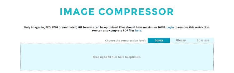 compress PNG