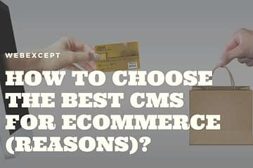 How to Choose The Best CMS for eCommerce Reasons