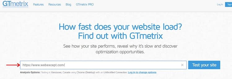 optimize image gtmetrix
