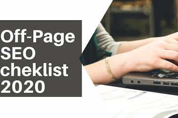 Off-Page SEO cheklist2020