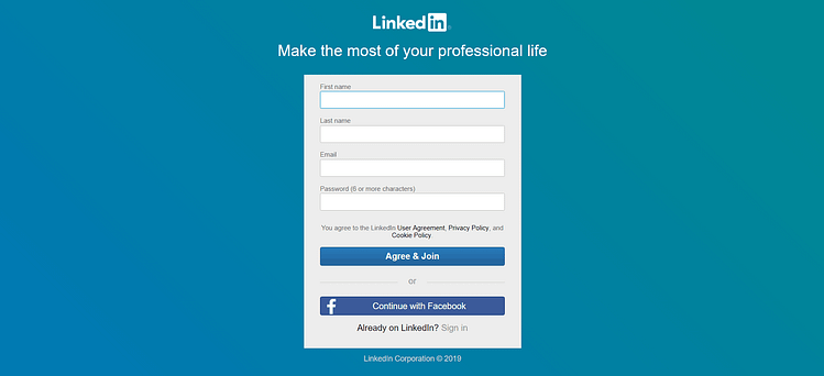 Linkedin Social Media Marketing Strategy
