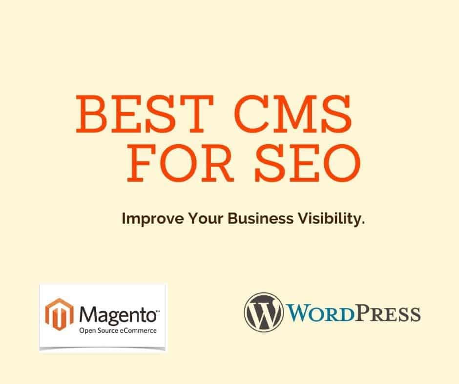 website design, mobile app development, TOP 5 best CMS for SEO to improve your Visibility