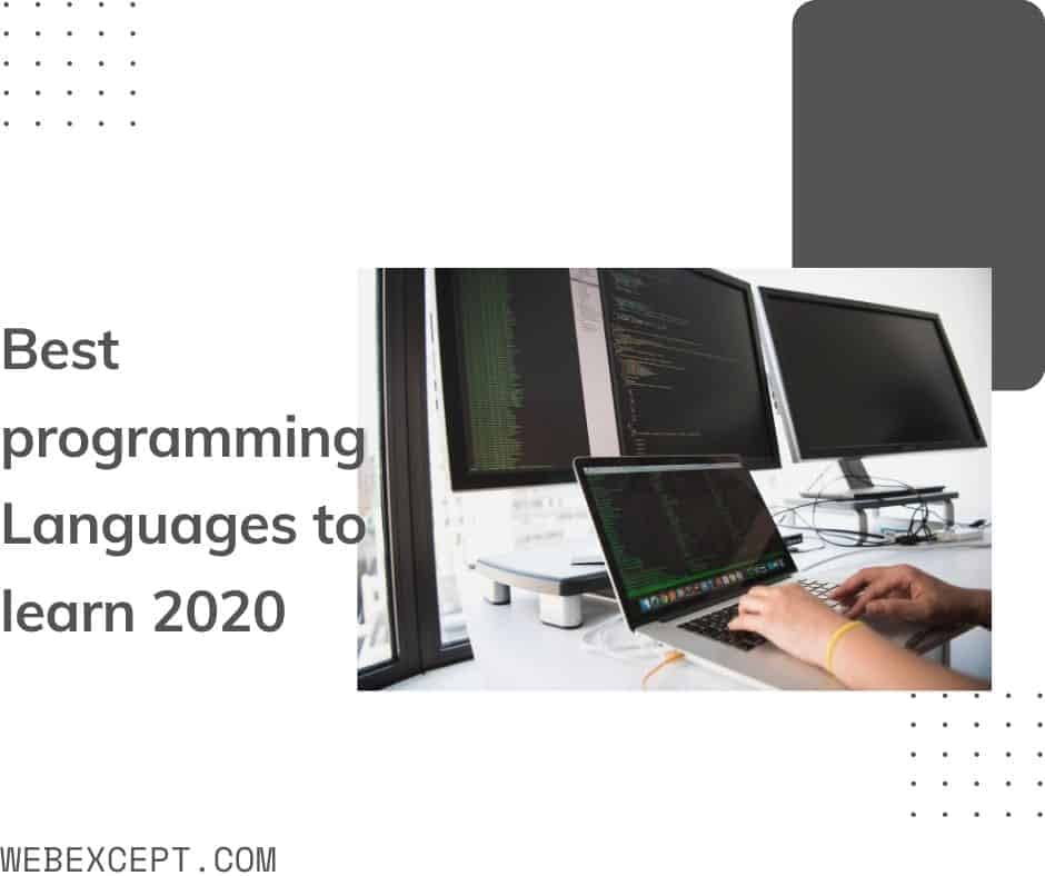 Discover the Best programming Languages of the Future - Webexcept